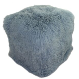 Solon Lamb Pouf by Foundry Select