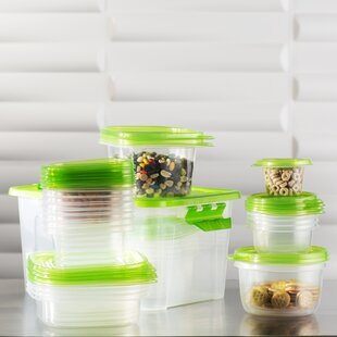 Wayfair Basics 27 Container Food Storage Set