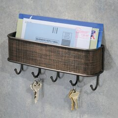Brown Key Hooks Mail Key Wall Organizers You Ll Love In 2021 Wayfair