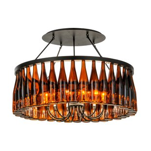 12-Light Semi Flush Mount by M..