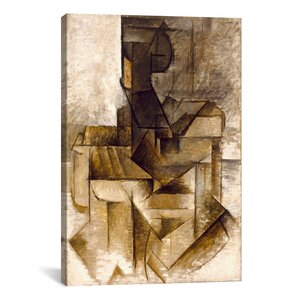 'The Rower' by Pablo Picasso Textual Art