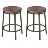 Alline Swivel 24.2 Counter Stool (Set of 2) by Williston Forge