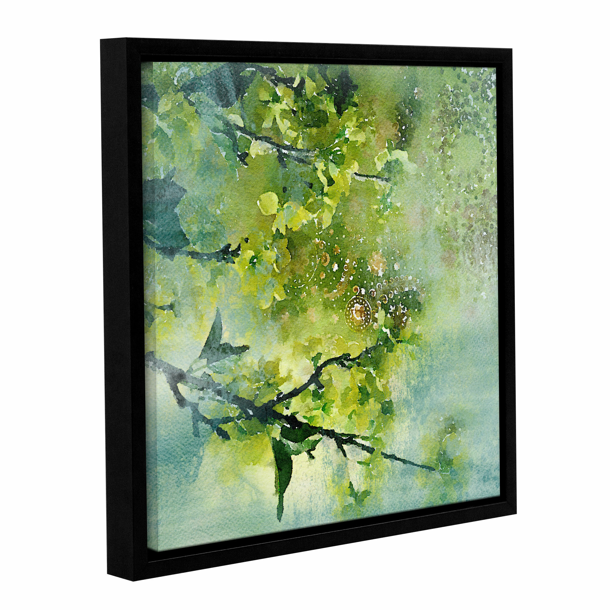 Ophelia & Co. Spring Green Color Palette Framed Painting Print on ...