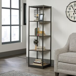 Gracie Oaks Theresa Tower Etagere Bookcase