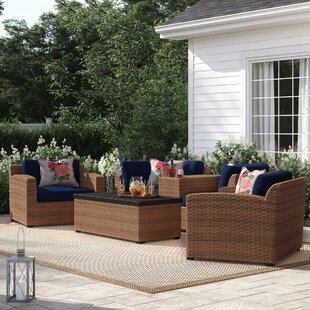 Waterbury 6 Piece Sofa Seating Group With Cushions by Sol 72 Outdoor Purchase