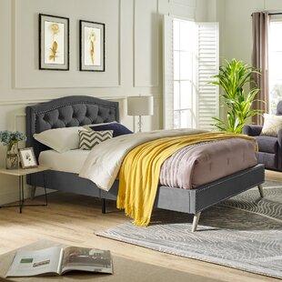 Austin Upholstered Platform Bed by Classic Brands