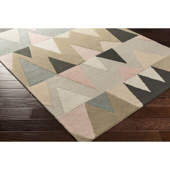 Orren Ellis Pana Handmade Flatweave Wool Earth Tones Rug Wayfair