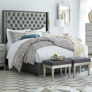 Compare prices Guillaume Upholstered Panel Bed by Willa Arlo Interiors Reviews (2019) & Buyer's Guide