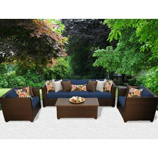 Medley 6 Piece Sofa Seating Group with Cushions