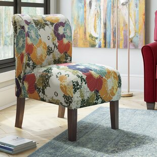 Zipcode Design Weymand Floral Slipper Chair