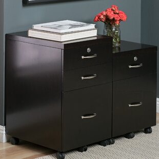 Newel 3-Drawer Mobile Vertical Filing Cabinet by Studio Designs HOME Today Sale Only