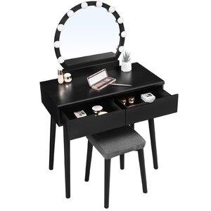 Diy Desk Makeup Vanity