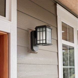 Maximus Craftsman Smart Security 1-Light Outdoor Wall Lantern