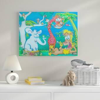 Harriet Bee Eberhart Chair Canvas Art Wayfair