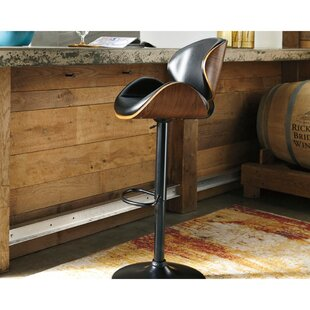 Nieman Adjustable Height Swivel Bar Stool