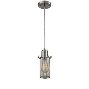 Amet 1-Light Cylinder Pendant by 17 Stories