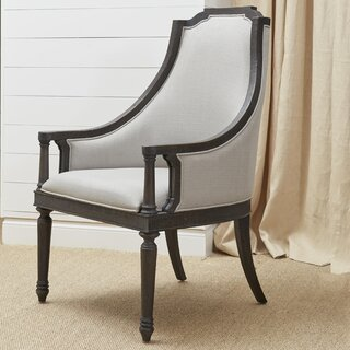 Alona Traditional Upholstered Dining Chair by Gracie Oaks SKU:ED717576 Details