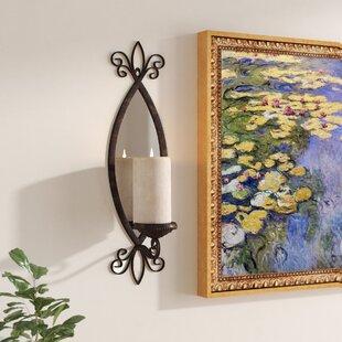 Amansara Metal Mirror Candle Sconce byAstoria Grand