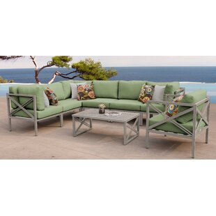 Carlisle 8 Piece Sectional Seating Group with Cushions