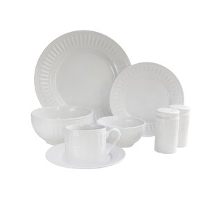 Sparta 50 Piece Dinnerware Set, Service for 8