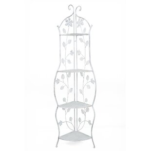 August Grove Ewalt Daffodil Steel Baker's Rack