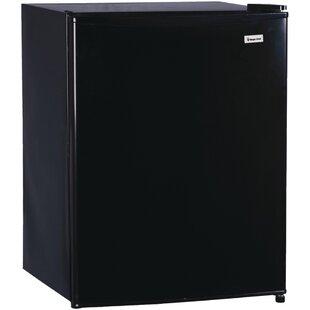 2.4 cu. ft. Compact Refrigerator with Freezer