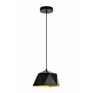 Wrought Studio Mullican 1-Light Inverted Pendant