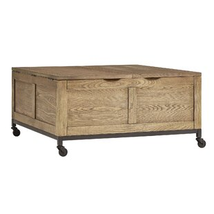 Mikesell Square Storage Trunk Cocktail Table By Gracie Oaks