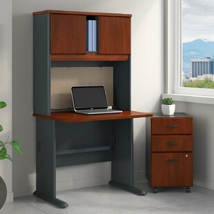 Bush Business Furniture Series A 3 Piece Desk Office Suite