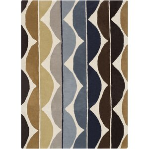 Zayne Brown Area Rug