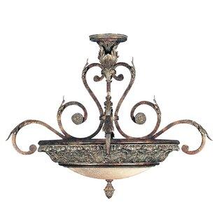 Fine Art Lamps Stile Bellagio 2-Light Semi Flush Mount