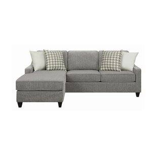 Isla 9025 Reversible Sofa  Chaise with Ottoman by Latitude Run