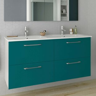 Barrister 1210mm Wall Hung Double Vanity By Ebern Designs