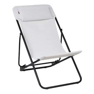 Reclining Folding Beach Chair By Lafuma