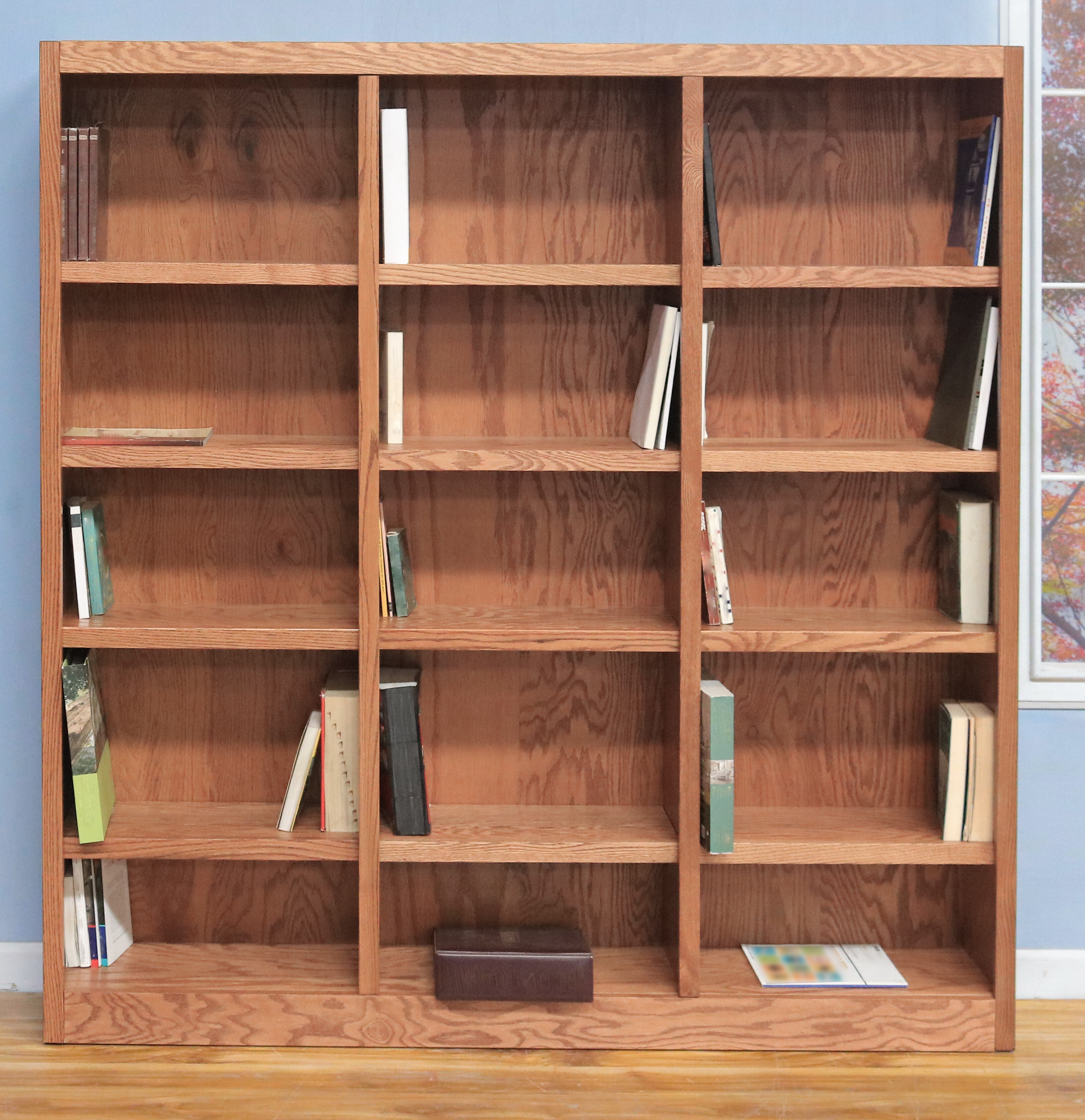 Winston Porter Flannagan Library Bookcase & Reviews | Wayfair