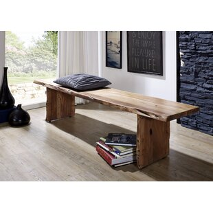 Jacob Wood Bench By Union Rustic