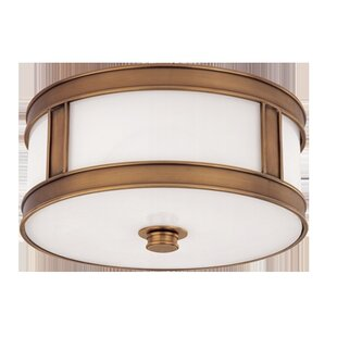 Red Barrel Studio Hoeppner 2-Light Flush Mount