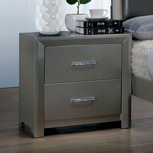 Boyce 2 Drawer Nightstand by Mercer41