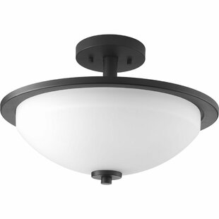 Knouse 2-Light Semi Flush Mount by Zipcode Design