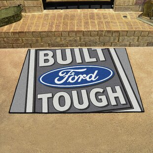Ford - Built Ford Tough All Star Doormat By FANMATS
