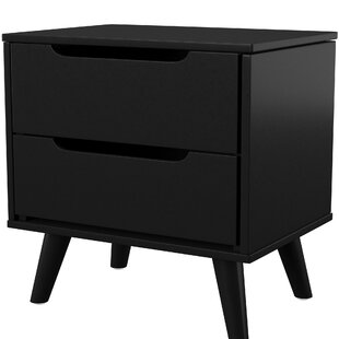 Eisen 2 Drawer Nightstand by Mercury Row