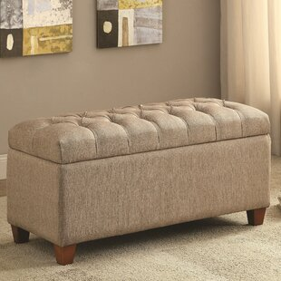 Saylors Upholstered Storage Bench by Red Barrel Studio