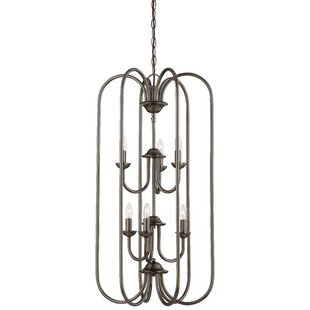 Ripley 6-Light Geometric Chandelier by Alcott Hill