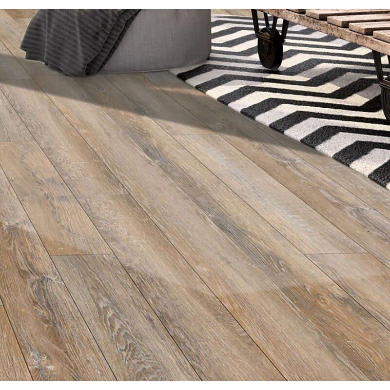 Madison Flooring Ancestral 6 X 48 X 6mm Oak Luxury Vinyl Plank Wayfair