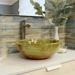 Searching for Onyx Stone Circular Vessel Bathroom Sink ByOnyx Marble Designs