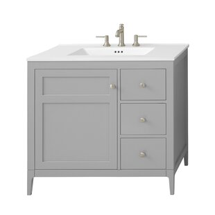 Review Briella 36 Single Bathroom Vanity Set by Ronbow