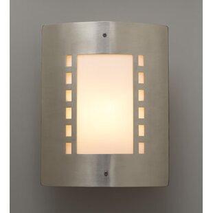 Ulen 1-Light Outdoor Flush Mount by Ebern Designs