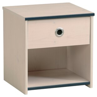 Dollie 1 Drawer Bedside Table by Just Kids