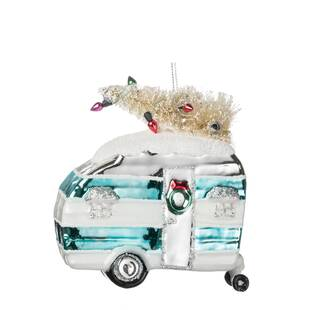 Camper With Tree Hanging Figurine Ornament (Set Of 6) By The Holiday Aisle by The Holiday Aisle
