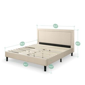 mariel upholstered platform bed
